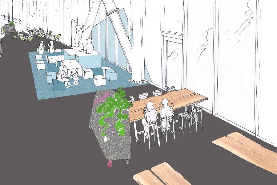 grib Alfa-college Bouma ontwerpschets