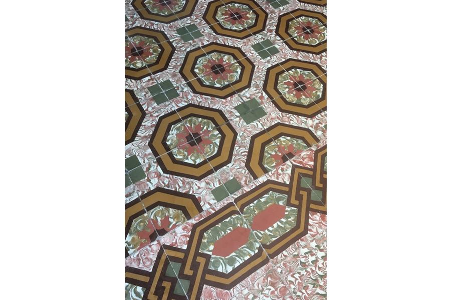 grib Villa Nestor Gran Canaria bestaande vloer