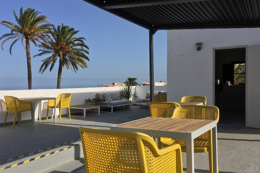 grib Villa Nestor Gran Canaria dakterras