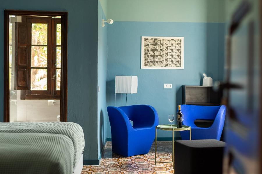 grib Villa Nestor Gran Canaria kamer Azul 1 fotograaf Jord Visser