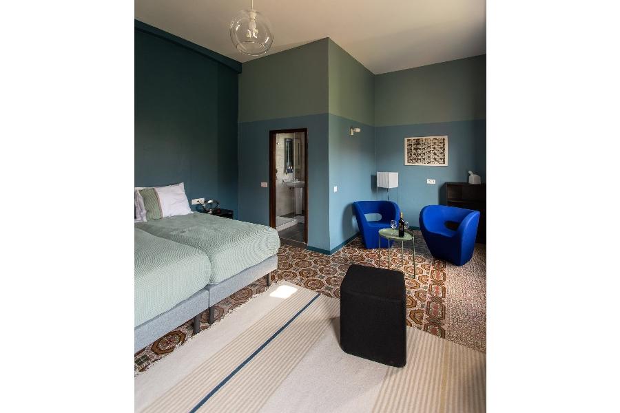 grib Villa Nestor Gran Canaria kamer Azul 2 fotograaf Jord Visser