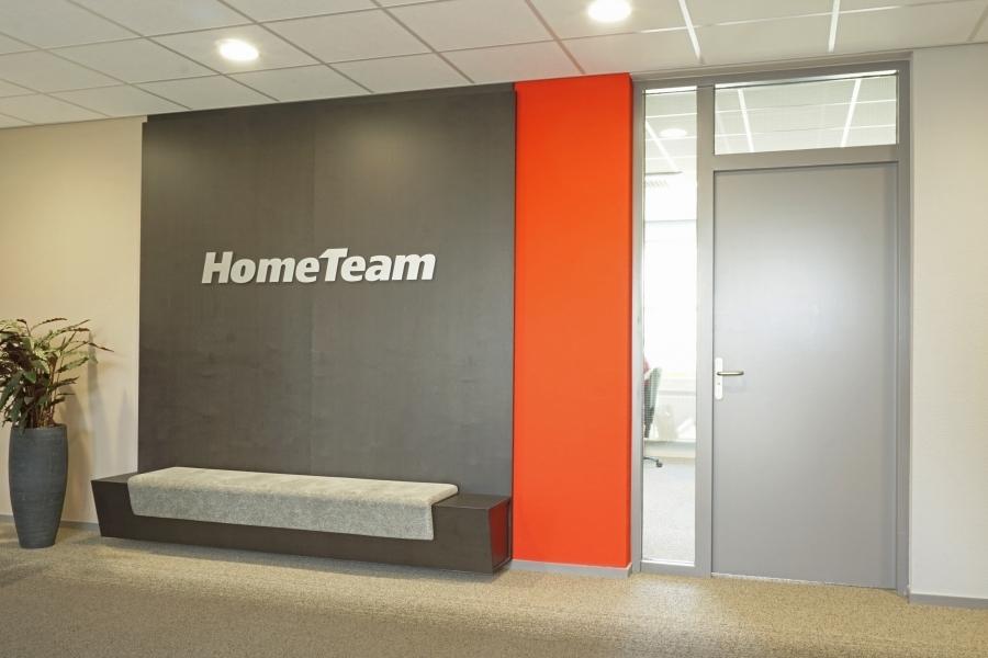 grib kantoor HomeTeam entree